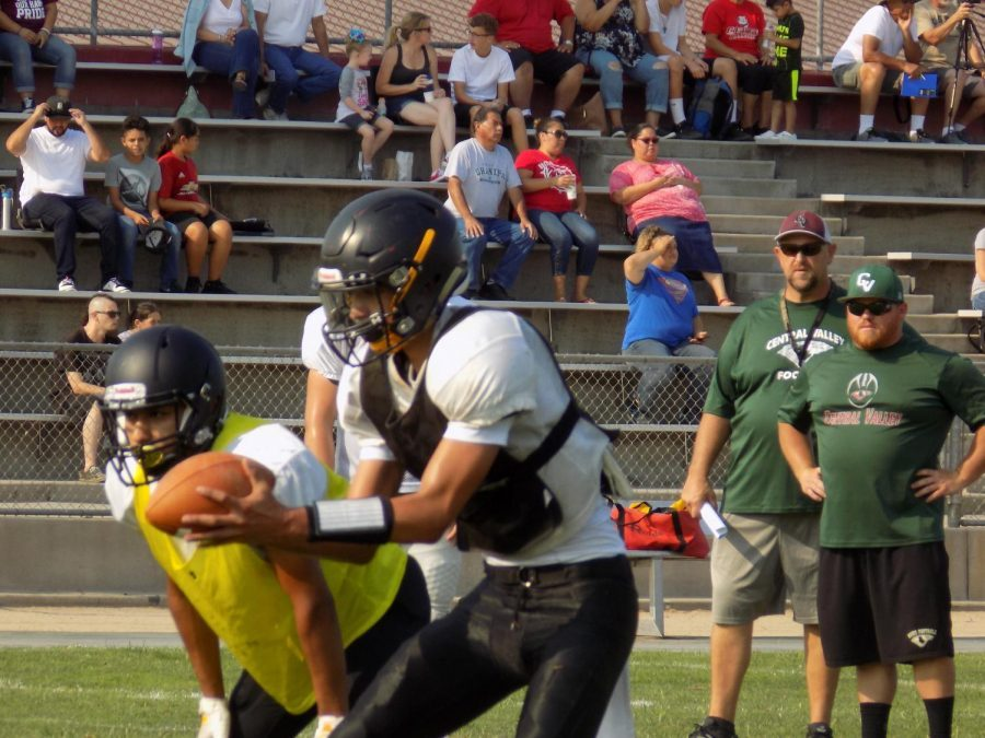 Learning curve: Scrimmage marks debut of new coaches at Hughson, Ceres