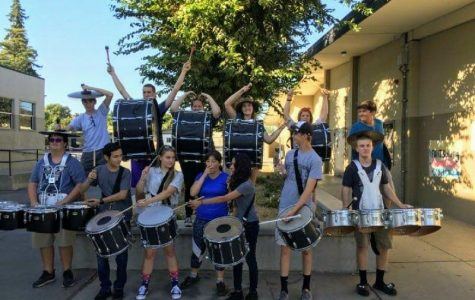 Drumline Rolls Into Hughson High School