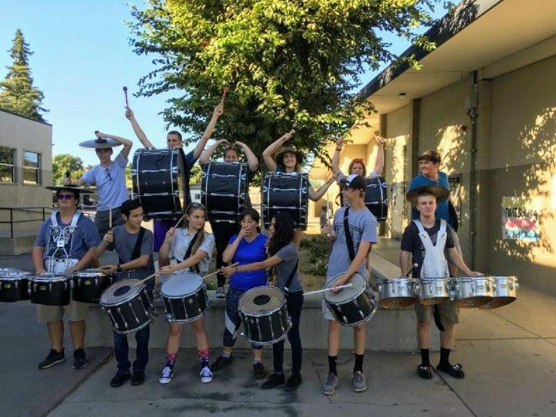 Drumline Rolls Into Hughson High School