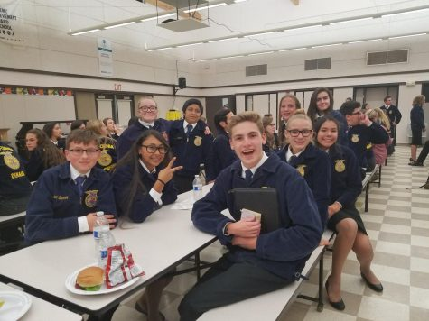 FFA Greenhand Members Compete In First Competition