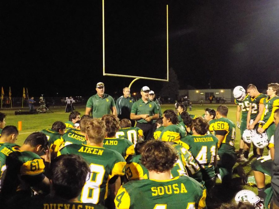 Hilmar scores 49 unanswered points in homecoming win over Hughson