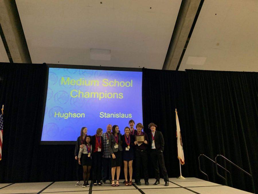 Hughson State Academic Decathlon Champions
