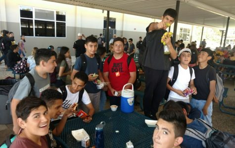 Hughson High Combines Lunches