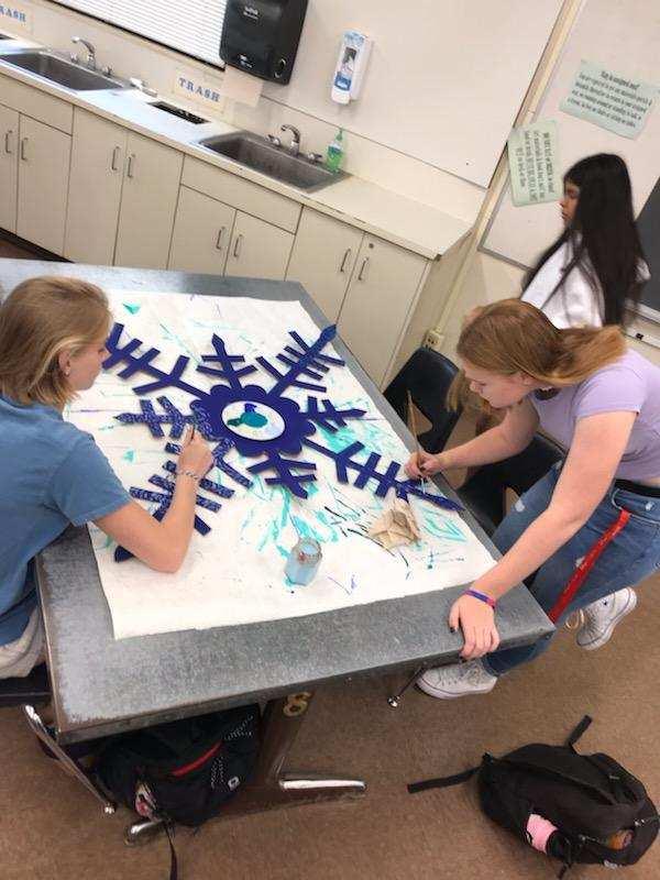 Art - Snowflakes for Frozen Production