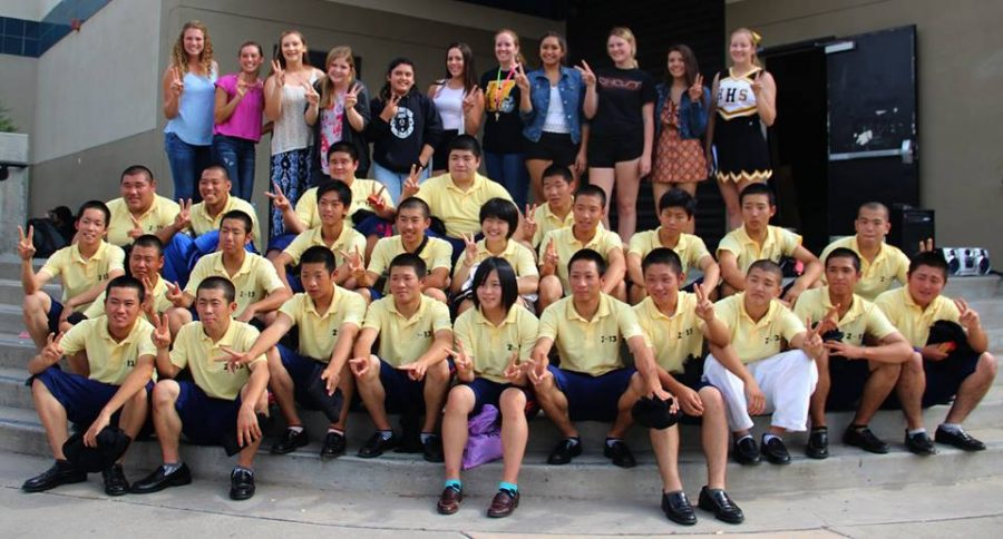 Japanese Exchange Students To Arrive
