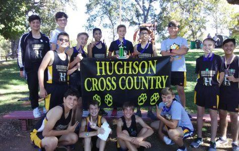 The 2019 Freshman Hughson Cross Country Team.