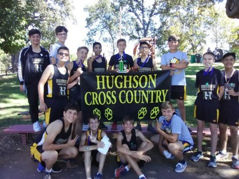 The 2019 Freshman Hughson Cross Country Team.